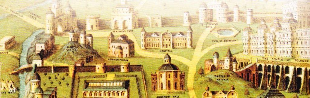 Orasul antic Ierusalim. Templul lui Solomon