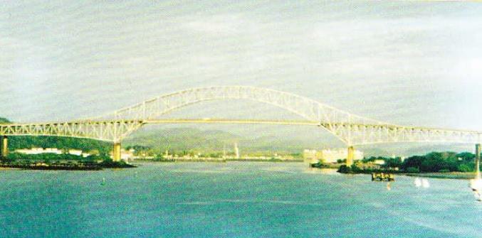 Podul dintre America de Nord si America de Sud peste Canalul Panama
