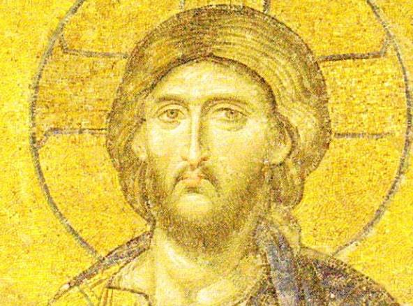 Deisis. Mozaic Catedrala Sfanta Sofia. Istanbul