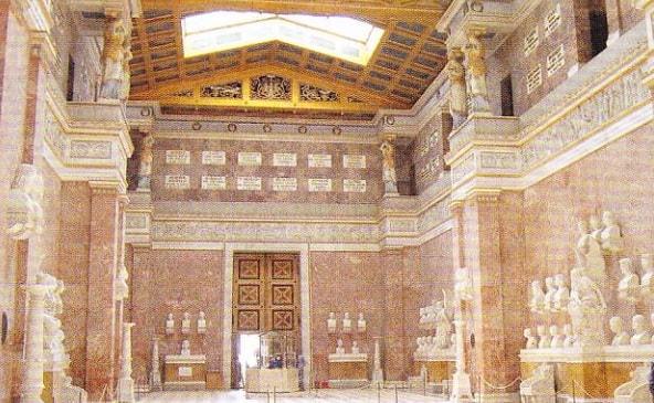 Interiorul Walhallei