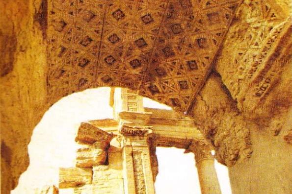Fragment din Templu. Palmyra