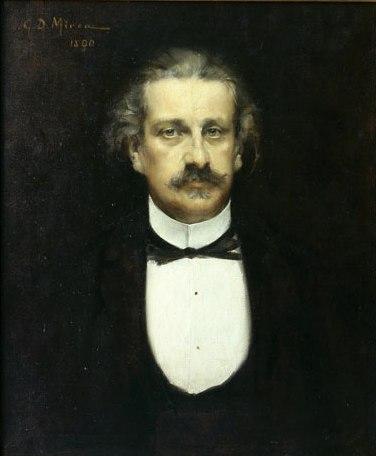 Alexandru I. Odobescu - portret de   C. D. Mirea