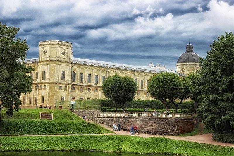 Palatul Gatcina, Rusia
