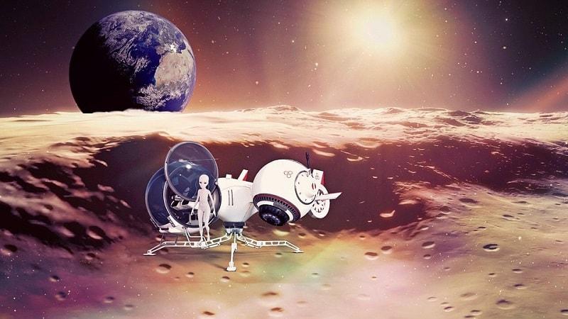 Extraterestrii pe luna