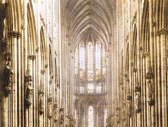 Interiorul Catedralei din Koln