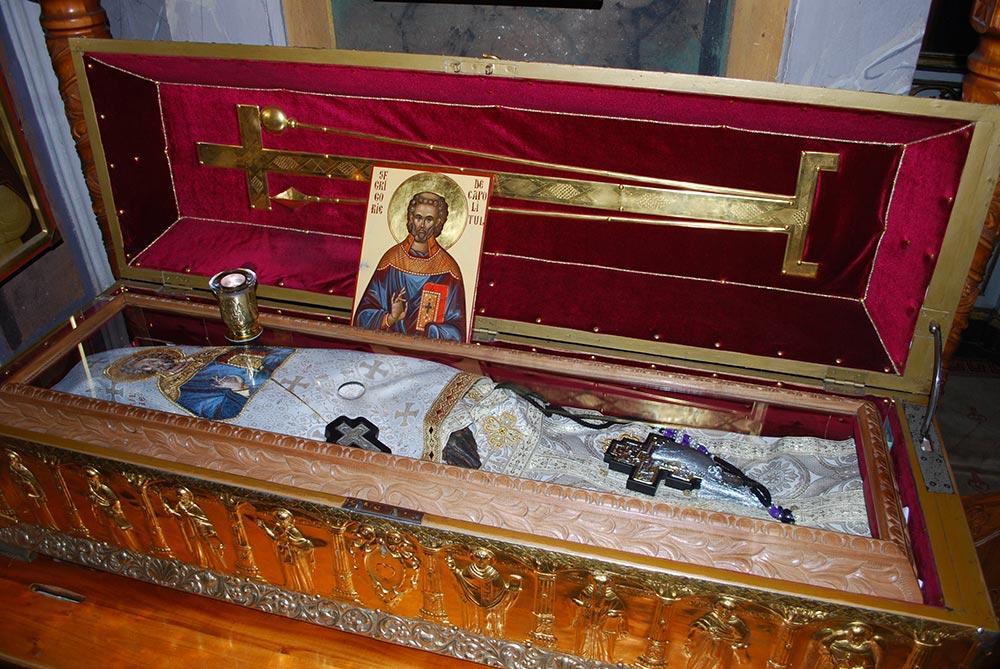 Moastele Sfantului Grigorie Decapolitul