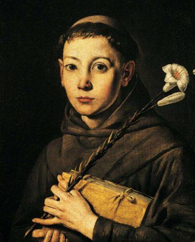Viata Sfantului Anton de Padova