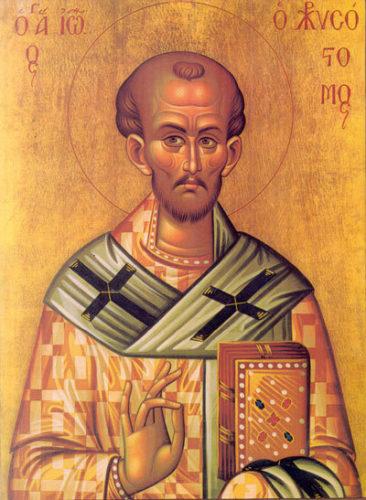 Sfantul Ioan Gura de Aur a fost vizitat de Apostolul Pavel