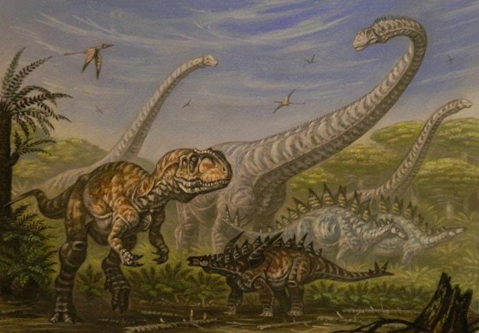 Diverse tipuri de dinozauri