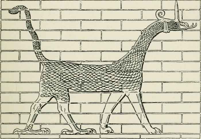 Dragonul din Babilon