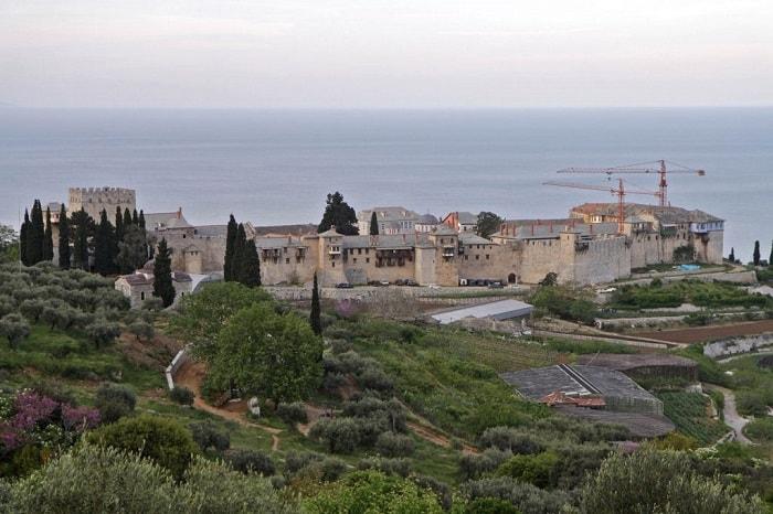 Manastirea Marea Lavra de pe Muntele Athos