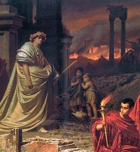 Nero a incendiat Cetatea Eterna?