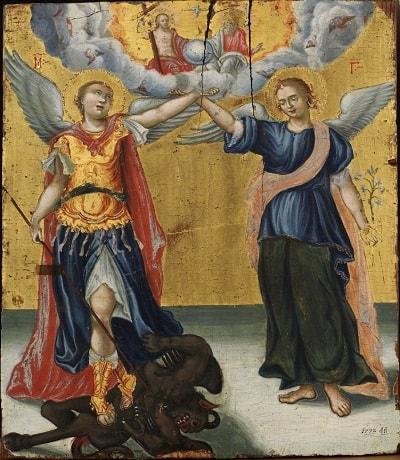 Sfintii Arhangheli Mihail si Gavril - Stapanii Cerurilor