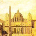 Catedrala Sfantul Petru cea mai mare constructie catolica din Vatican la care au lucrat toti arhitectii vremii