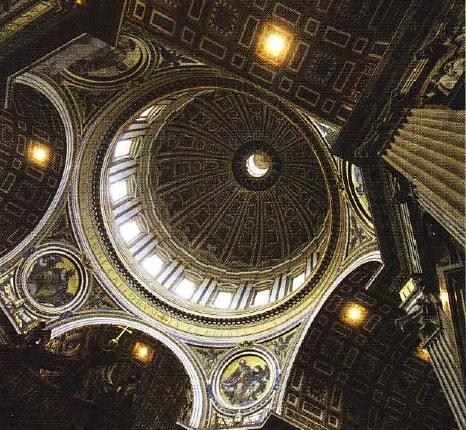 Cupola catedralei Sfantul Petru