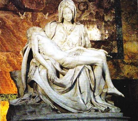 """""""Pieta"""" de Michelangelo"""