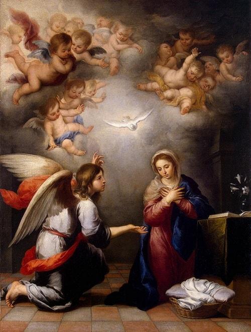 Sfantul Gabriel o viziteaza pe Maria