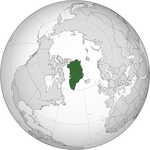 Groenlanda fata de cercul polar