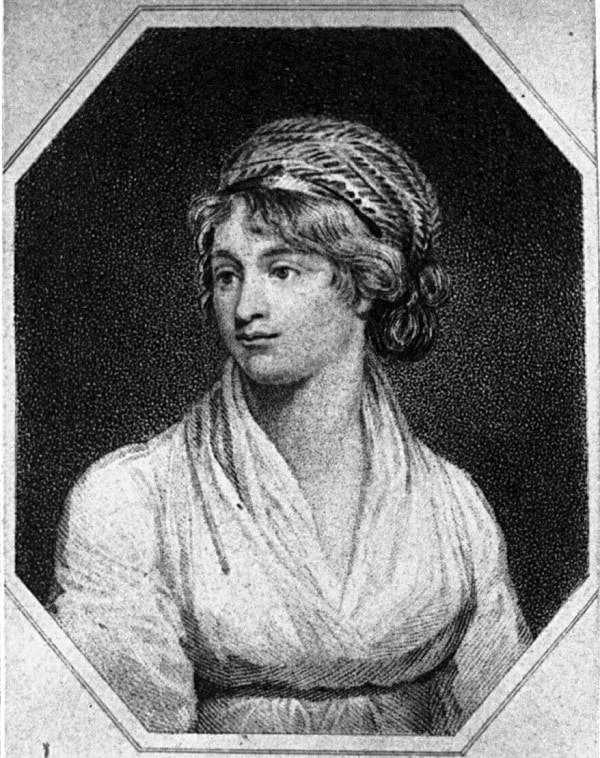 Mary Godwin Wollstonecraft, autoarea romanului Frankenstein