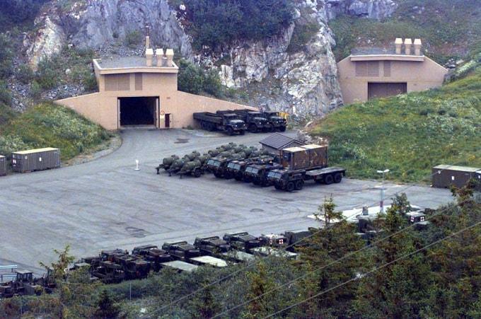 Baza militara NATO din zilele noastre (Banak, Norvegia)