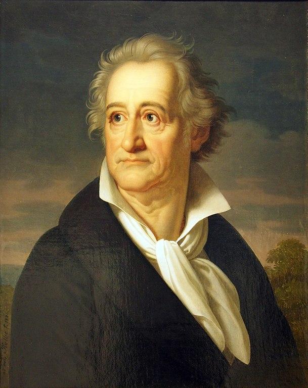 Portret Goethe