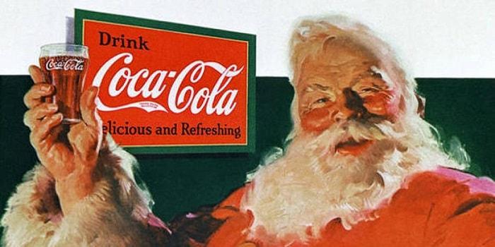Prima reclama creata vreodata de Coca Cola, avandu-l pe Mos Craciun ca personal principal