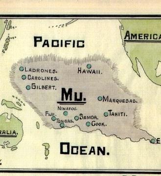 Mu - Continentul acoperit de apele Pacificului