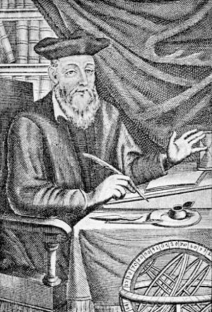 Nostradamus la masa de lucru