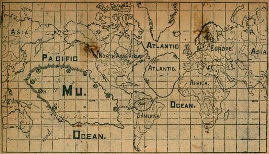 O alta schita a continentului Mu
