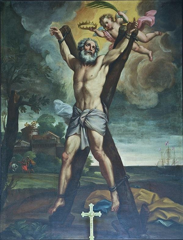 Sfantul Andrei crucificat