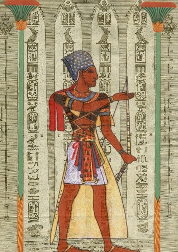 Tip de imbracaminte purtata de faraoni