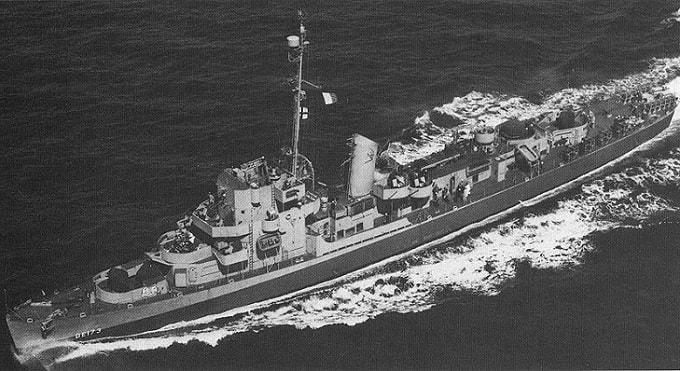 Vasul USS Eldridge - cel folosit in experimentul e teleportare Philadelphia