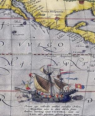 Istoria descoperirii Oceanului Pacific