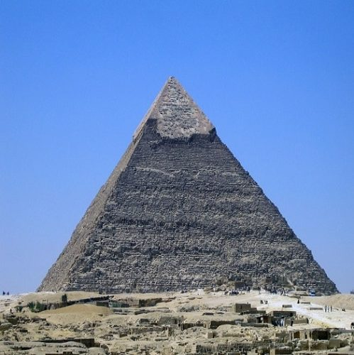 Constructia Piramidei lui Keops si mesajele acesteia