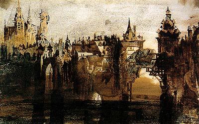 """""""Podul"""" - pictura de Victor Hugo"""
