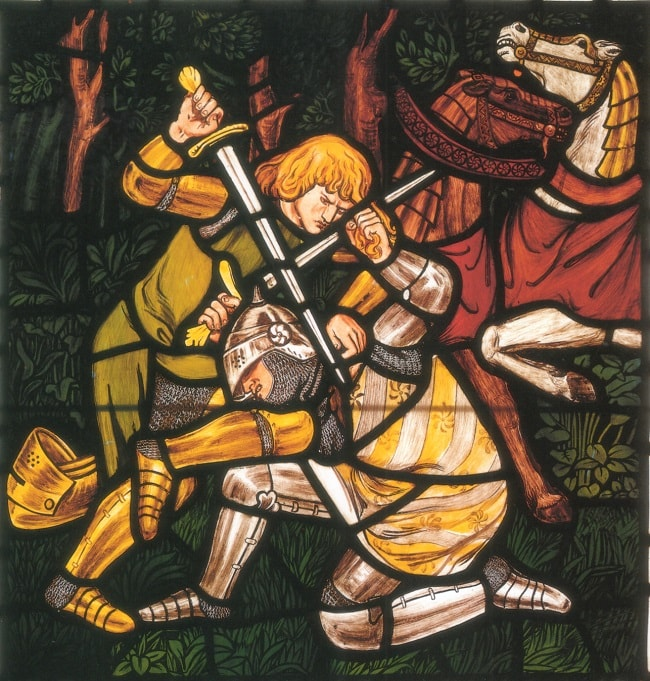 Tristan il invinge pe Morholt