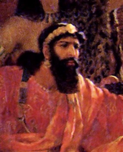 Xerxes - tablou de Ernest Norman