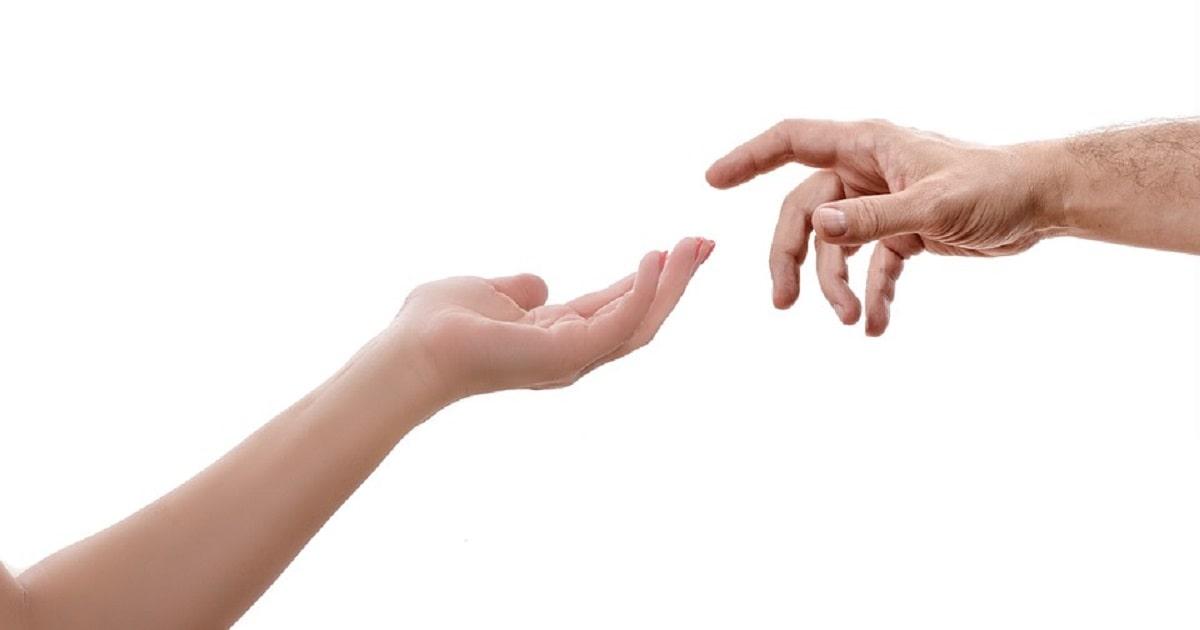 subțire în jos degetele