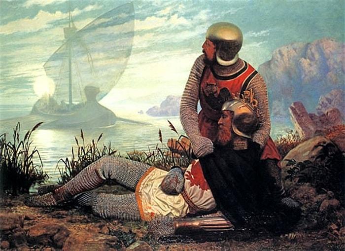 Regele Arthur rănit