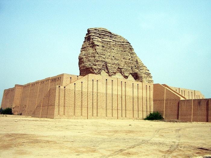 Zigurat ridicat in Aqar Quf