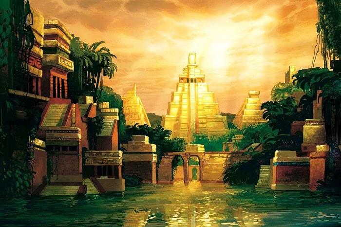 El Dorado tablou
