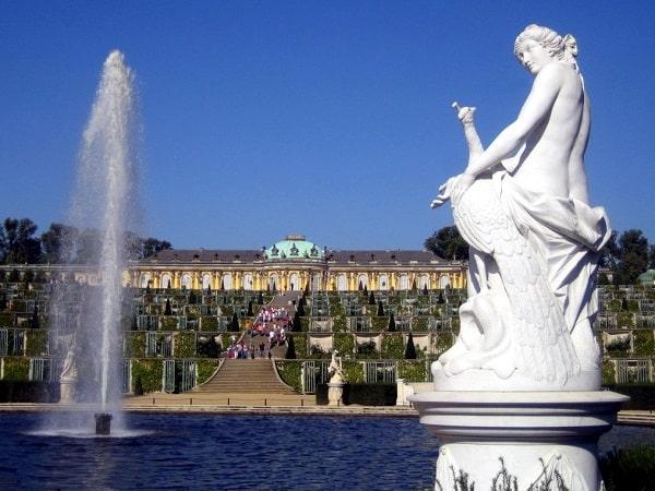 Fantana din Sanssouci