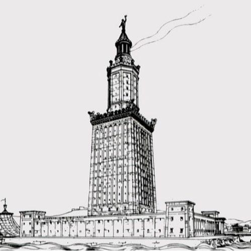 Farul din Alexandria - Singura minune a lumii ce avea un scop practic