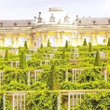 Sanssouci - Cel mai faimos palat al dinastiei de Hohenzollern
