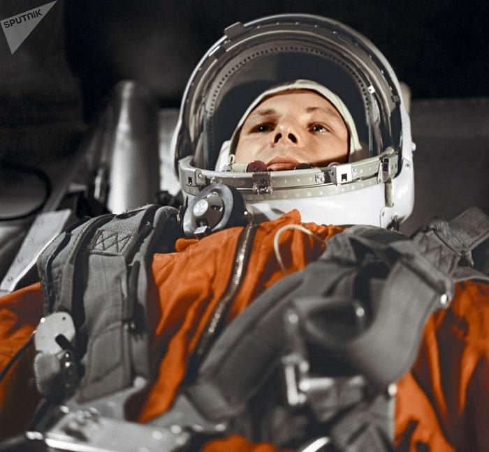 Iuri Gagarin la prima sa misiune in spatiu