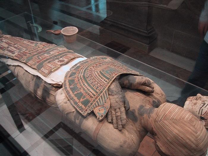 O mumie egipteana