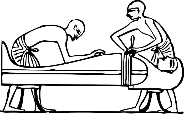 Proces de imbalsamare de catre egipteni