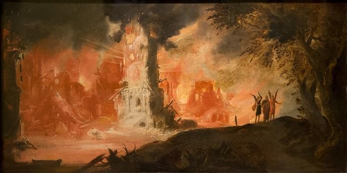 Distrugerea Sodomei si Gomorei