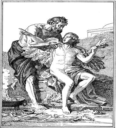 Dedal - Primul mestesugar al antichitatii