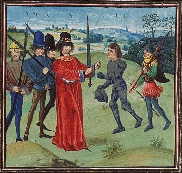 Balduin I de Flandra (Tablou)